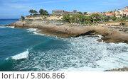Купить «Дом Графа (Casa del Duque) находится в Коста Адехе на острове Тенерифе. Рядом с пляжем Дель Дуке.», видеоролик № 5806866, снято 29 ноября 2013 г. (c) Roman Likhov / Фотобанк Лори