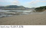 Пляж Три Транг (Tri Trang) во время отлива. Пхукет. Таиланд (2013 год). Стоковое видео, видеограф Roman Likhov / Фотобанк Лори