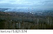 Купить «Дым над городом. Красноярск», видеоролик № 5821574, снято 3 ноября 2013 г. (c) Ирина Егорова / Фотобанк Лори