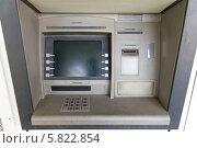 Купить «Уличный банкомат», фото № 5822854, снято 24 сентября 2013 г. (c) Евгений Ткачёв / Фотобанк Лори