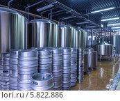 Современная пивоварня. Стоковое фото, фотограф Иван Сазыкин / Фотобанк Лори