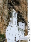 Монастырь в горах. Стоковое фото, фотограф Maselko Vitaliy / Фотобанк Лори