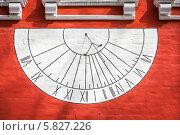 Солнечные часы Новодевичьего монастыря. Стоковое фото, фотограф Артем Мишуков / Фотобанк Лори