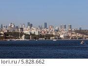 Купить «Турция. Стамбул. Вид на город с пролива Босфор», эксклюзивное фото № 5828662, снято 11 сентября 2013 г. (c) Александр Тарасенков / Фотобанк Лори