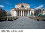 Большой театр (2014 год). Редакционное фото, фотограф Юрий Баулин / Фотобанк Лори