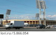 Купить «Стадион Петровский, Санкт-Петербург», видеоролик № 5866054, снято 2 мая 2014 г. (c) Кекяляйнен Андрей / Фотобанк Лори