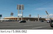 Купить «Стадион Петровский в Петроградском районе, Санкт-Петербург», видеоролик № 5866082, снято 30 апреля 2014 г. (c) Кекяляйнен Андрей / Фотобанк Лори