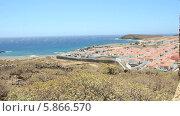 Купить «Деревня-призрак Абадес на юге острова Тенерифе», видеоролик № 5866570, снято 3 мая 2014 г. (c) Roman Likhov / Фотобанк Лори
