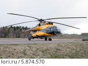 Вертолет МИ-8 (2014 год). Редакционное фото, фотограф Александр Хорхордин / Фотобанк Лори