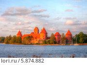Купить «Замок Тракай, Литва», эксклюзивное фото № 5874882, снято 2 мая 2014 г. (c) Литвяк Игорь / Фотобанк Лори