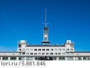 Здание Волжского Пароходства в Нижнем Новгороде. Редакционное фото, фотограф Денис Веселов / Фотобанк Лори