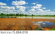 Купить «Курорт «Старая Русса», озеро с лечебной грязью», фото № 5884018, снято 20 января 2018 г. (c) Зезелина Марина / Фотобанк Лори