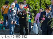 Купить «День Победы в Москве», фото № 5885882, снято 9 мая 2014 г. (c) Okssi / Фотобанк Лори