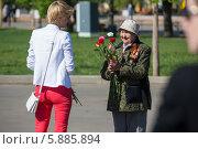Купить «День Победы в Москве», фото № 5885894, снято 9 мая 2014 г. (c) Okssi / Фотобанк Лори