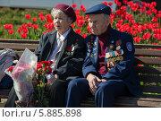 Купить «День Победы в Москве», фото № 5885898, снято 9 мая 2014 г. (c) Okssi / Фотобанк Лори
