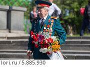 Купить «День Победы в Москве», фото № 5885930, снято 9 мая 2014 г. (c) Okssi / Фотобанк Лори