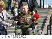 9 мая в Москве (2014 год). Редакционное фото, фотограф Okssi / Фотобанк Лори