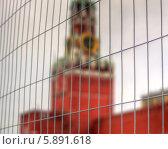 Москва за решеткой (2014 год). Стоковое фото, фотограф Михаил Гайдей / Фотобанк Лори