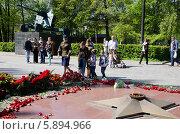 Вечный огонь (2014 год). Редакционное фото, фотограф Ладнев Владимир Евгеньевич / Фотобанк Лори