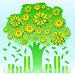 Денежное дерево работает и приносит прибыль. Концепция финансовой независимости, иллюстрация № 5899854 (c) Dmitry Domashenko / Фотобанк Лори