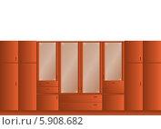 Шкаф. Стоковая иллюстрация, иллюстратор Марина Новожилова / Фотобанк Лори