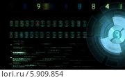 Цифры на экране. Стоковая анимация, видеограф Александр Дейнега / Фотобанк Лори