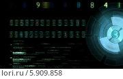 Купить «Цифры на экране», видеоролик № 5909858, снято 14 мая 2014 г. (c) Александр Дейнега / Фотобанк Лори