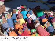 Самодельные игрушки, народные промыслы Tarahumara, Мексика. Стоковое фото, фотограф Ludenya Vera / Фотобанк Лори