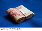 Пачка рублей. Стоковое фото, фотограф Юрий Антипычев / Фотобанк Лори