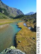 Изумрудная река, Кавказ. Стоковое фото, фотограф александр жарников / Фотобанк Лори