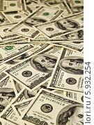 Доллары. Стоковое фото, фотограф Федорец Артем / Фотобанк Лори