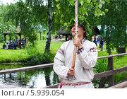 Купить «Праздник Троица В России, фольклор и народные гуляния», фото № 5939054, снято 23 июня 2013 г. (c) ElenArt / Фотобанк Лори