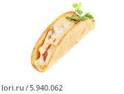 Купить «Сэндвич с мясом, сыром и овощами», фото № 5940062, снято 19 ноября 2013 г. (c) Jan Jack Russo Media / Фотобанк Лори