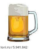 Купить «Кружка пива», иллюстрация № 5941842 (c) Веснинов Янис / Фотобанк Лори