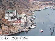 Купить «Крым, Балаклава», фото № 5942354, снято 4 января 2014 г. (c) Сергей Сучилкин / Фотобанк Лори