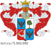 Купить «Герб рода Вешняковых», иллюстрация № 5943990 (c) VectorImages / Фотобанк Лори