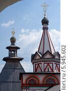 Звенигород, Саввино-Сторожевский монастырь. Стоковое фото, фотограф Анна Романова / Фотобанк Лори