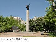 Купить «Памятник жертвам терроризма на Дубровке», эксклюзивное фото № 5947586, снято 20 мая 2014 г. (c) lana1501 / Фотобанк Лори