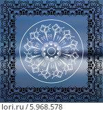 Купить «Мандала. Морской фон», иллюстрация № 5968578 (c) Katya Ulitina / Фотобанк Лори