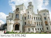 Купить «Замок Глубока-над-Влтавой. Чехия», фото № 5976342, снято 27 апреля 2014 г. (c) E. O. / Фотобанк Лори