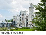 Купить «Замок Глубока-над-Влтавой. Чехия», фото № 5976358, снято 27 апреля 2014 г. (c) E. O. / Фотобанк Лори