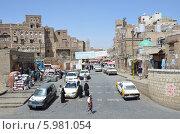 Купить «Йемен, Сана, на улицах старого города», фото № 5981054, снято 18 марта 2014 г. (c) Овчинникова Ирина / Фотобанк Лори
