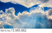 Облака. Стоковое фото, фотограф Сергей Иванов / Фотобанк Лори