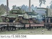 Украина подождет, танки (2014 год). Редакционное фото, фотограф Сапожников Георгий Борисович / Фотобанк Лори