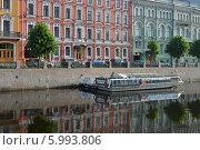 Купить «Река Мойка в Петербурге», эксклюзивное фото № 5993806, снято 6 июня 2014 г. (c) Александр Алексеев / Фотобанк Лори
