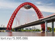 Купить «Живописный мост. Москва», фото № 5995086, снято 1 июня 2013 г. (c) Наталья Волкова / Фотобанк Лори