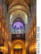 Купить «Париж. Орган в Соборе Парижской Богоматери», фото № 5999438, снято 30 апреля 2014 г. (c) Parmenov Pavel / Фотобанк Лори