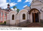 Купить «Богородице-Рождественский женский монастырь», фото № 6019250, снято 18 июня 2014 г. (c) Кирпинев Валерий / Фотобанк Лори