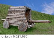 Купить «Новоторжский кремль. Таран», эксклюзивное фото № 6021686, снято 21 июня 2013 г. (c) Илюхина Наталья / Фотобанк Лори