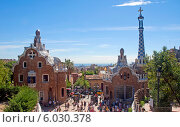 Парк Гуэль. Барселона. Испания (2013 год). Редакционное фото, фотограф Svet / Фотобанк Лори